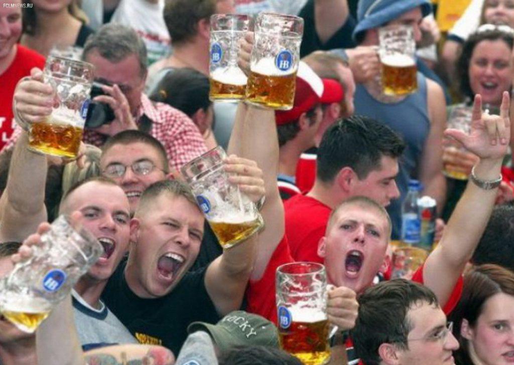 Запрет на продажу алкоголя на время проведения футбола