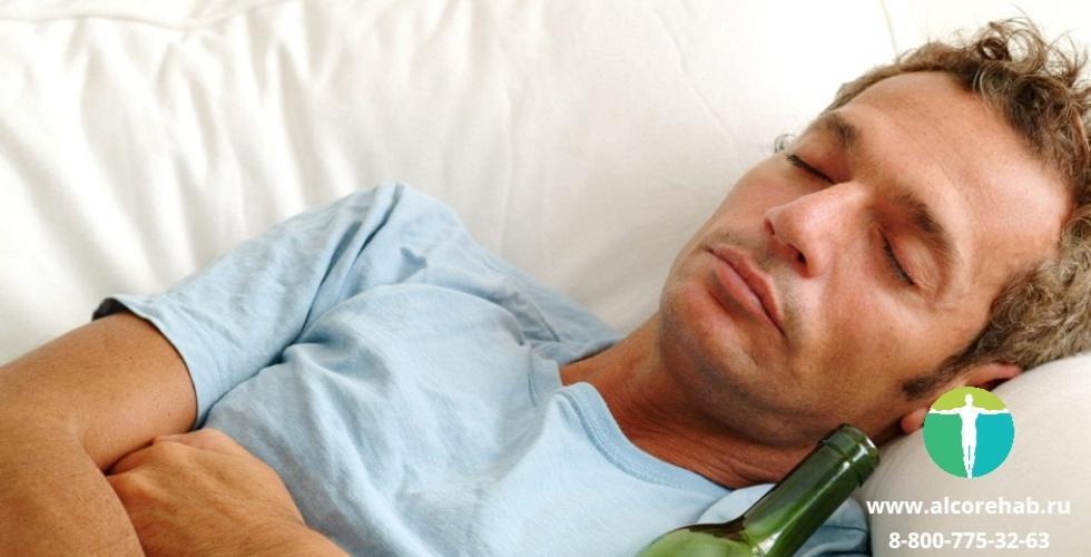 Влияние алкоголя на сон