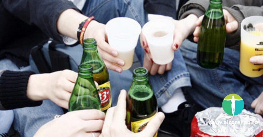 Влияние алкоголя на общество
