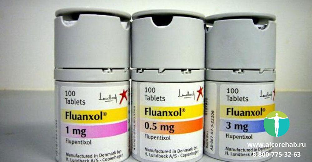 Флюанксол в лечении алкогольной зависимости