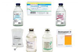 Препараты для детоксикации от алкоголя